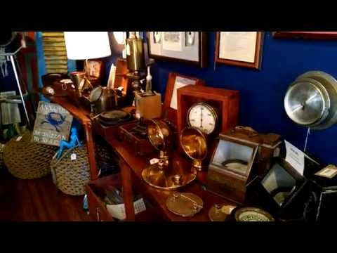 Come and have a look (2): Nautical Furniture, Decor and Antiques