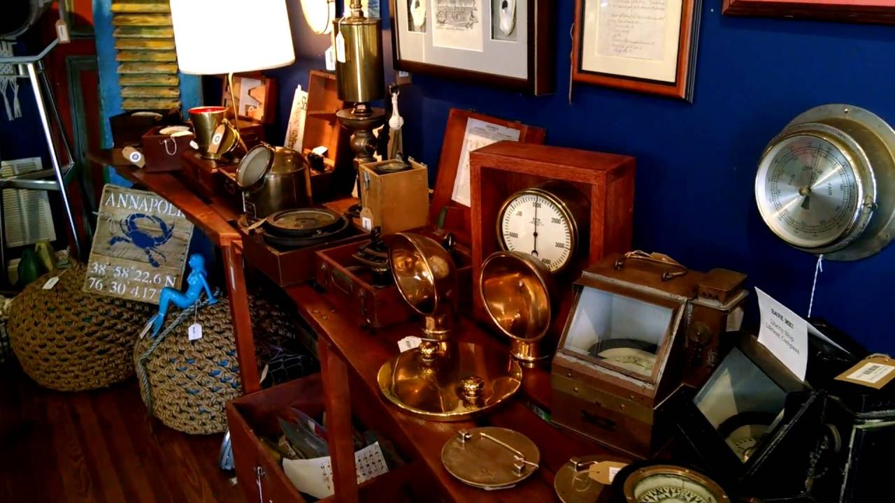 Come and have a look (2): Nautical Furniture, Decor and Antiques - Come And Have A Look (2): Nautical Furniture, Decor And Antiques