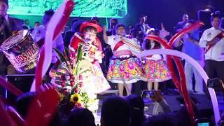 MARTINA DE LOS ANDES - primicia 2018 en vivo - aniversario- con su 5 orquestas