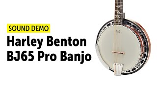 Harley Benton BJ65 Pro Banjo - Sound Demo (no talking)