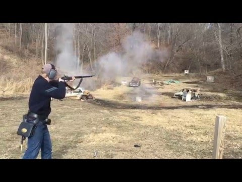 Live-Fire of my Custom M-1861 Springfield Rifle-Musket .58 cal