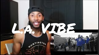 King Lil G - LA Vibe ( Official Video) Reaction
