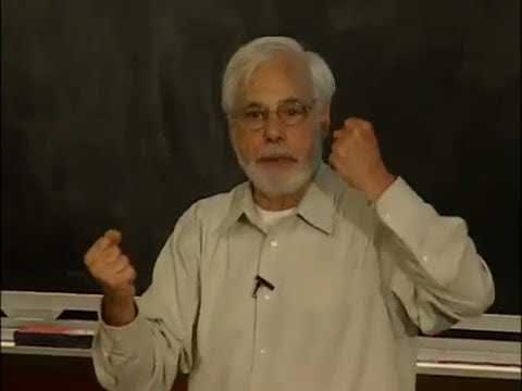 """Professor David Thorburn lectures on Buster Keaton in the film """"The General"""""""
