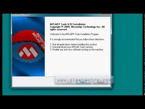 PIC Programming Tutorials Part 1 - Install MPLAB IDE & HITECH C Compiler