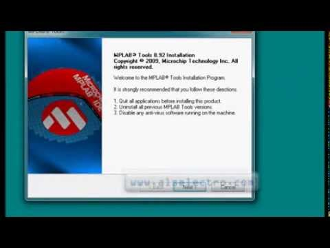 PIC Programming Tutorials Part 1 - Install MPLAB IDE & HITECH C Compiler