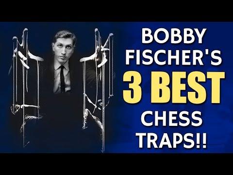 Bobby Fischer's 3 Best Chess Traps 😱 by IM Valeri Lilov
