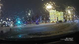 Смотреть видео Дтп 26.01.2019 18.00. Москва тверской бульвар/ Тверская улица. Таксисты едут на красный, онлайн