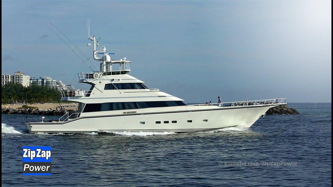 Enormous Sportfish Yacht