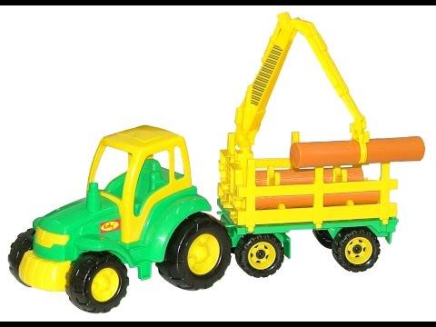 Мастер , трактор с прицепом №2
