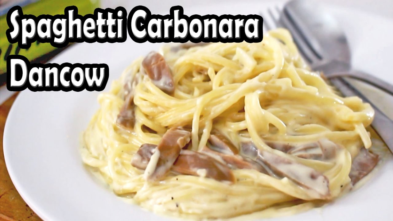 Resep Spaghetti Carbonara Dancow Youtube