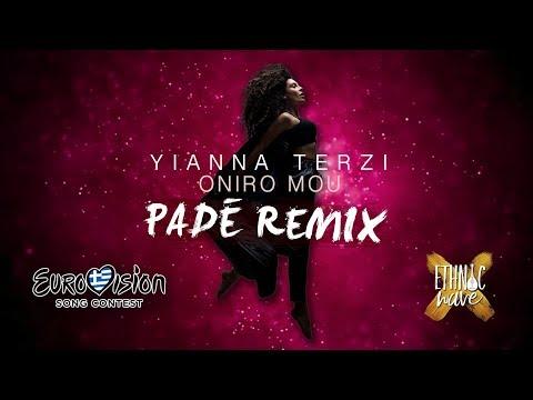 Yianna Terzi - Oniro Mou (Padé OFFICIAL REMIX) | English Subtitles