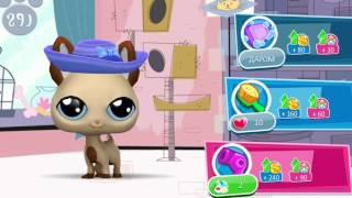 Littlest Pet Shop! Хочешь кушать или играть! Серия 20! Игра Магазин домашних животных