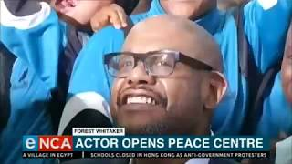 Forest Whitaker planting roots in South Africa