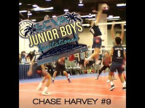 Chase Harvey #9 Highlights: 2019 SCVA Jr Boys Invitational - Balboa Bay