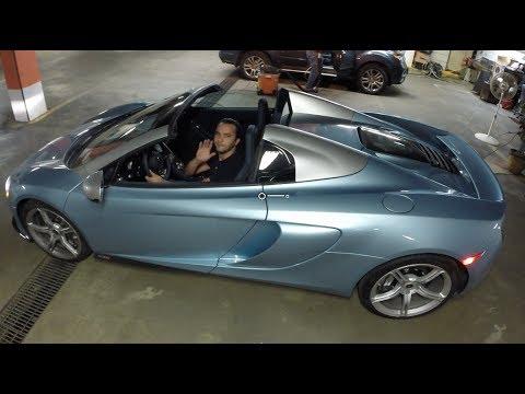 McLaren? Carro novo