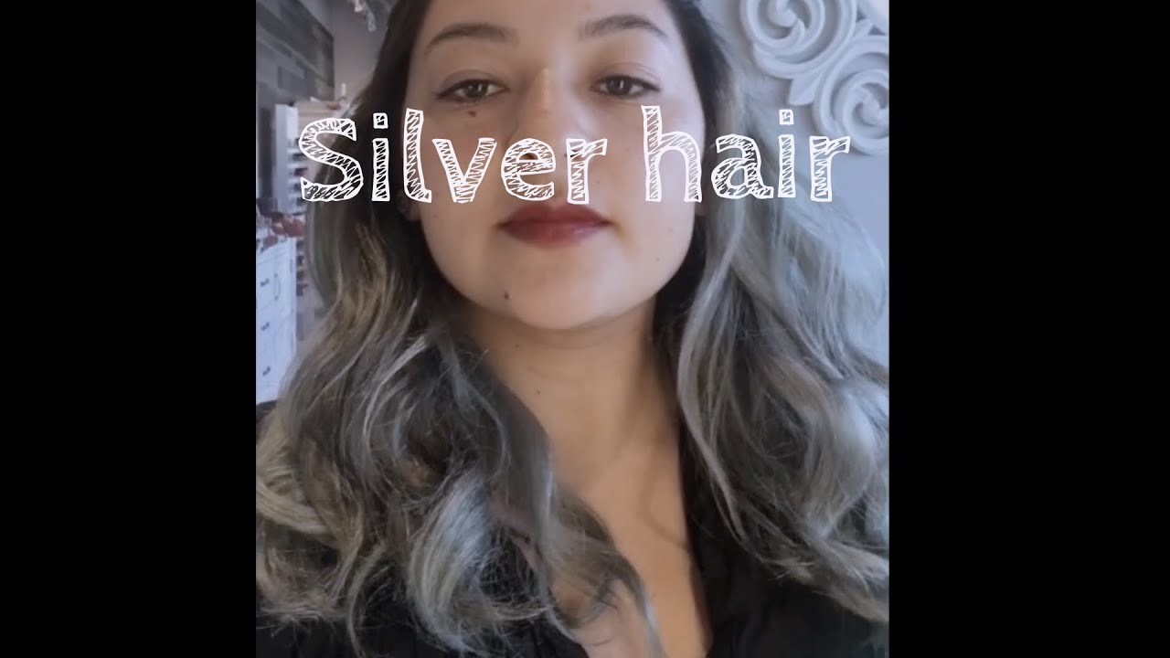 Silver Hair Platinum Blonde Grey Hair How To Remove Green And