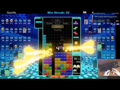 Tetris 99 - KO'd ALL TOP 10, 69 Back to Backs
