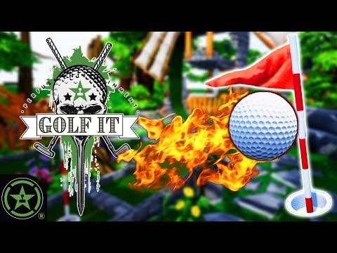 You Can Close the Hole? (55 Holes) - Golf It!   Live Gameplay