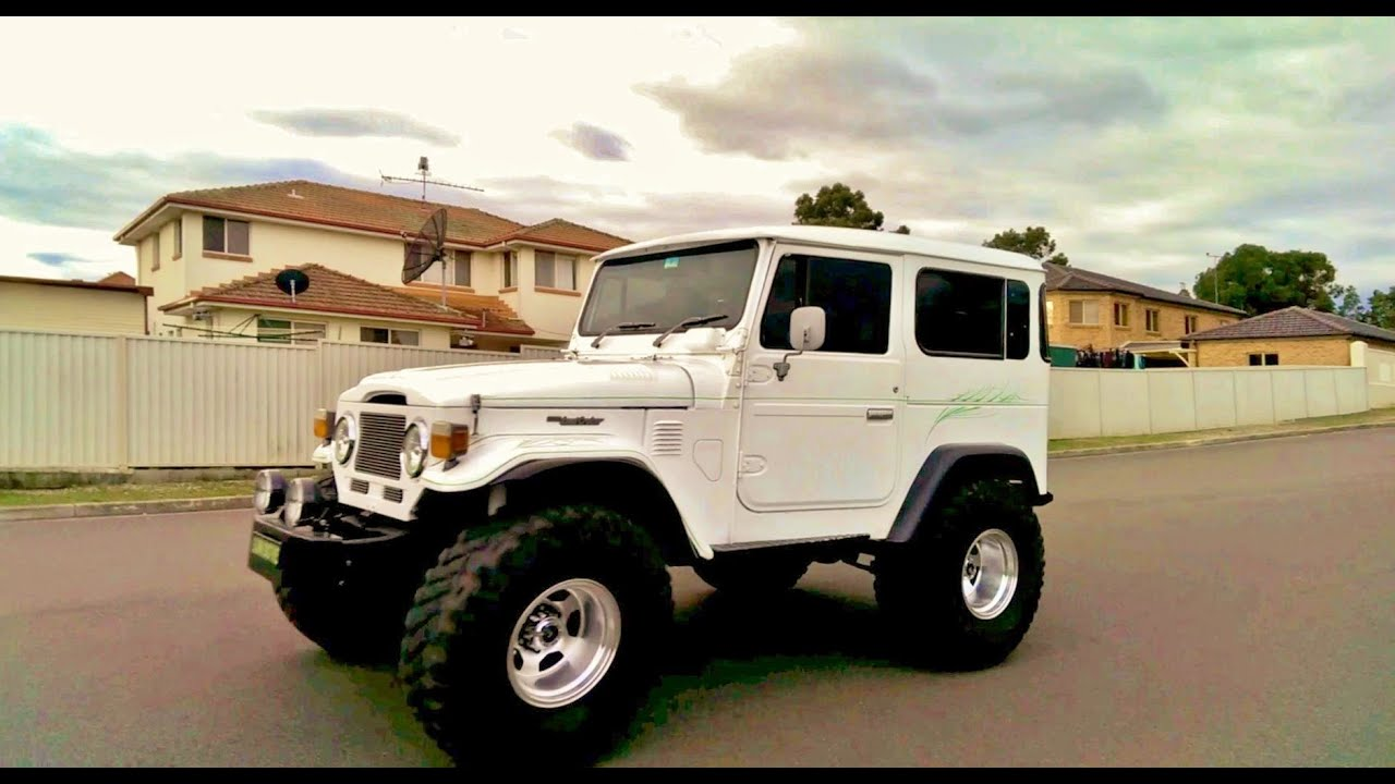 Cruiser Fj Toyota FJ40 Landcruiser with 4litre 1UZFE Lexus V8 full throttle ...