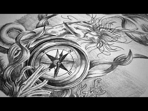 Full Sleeve Tattoo Design – Speed Drawing
