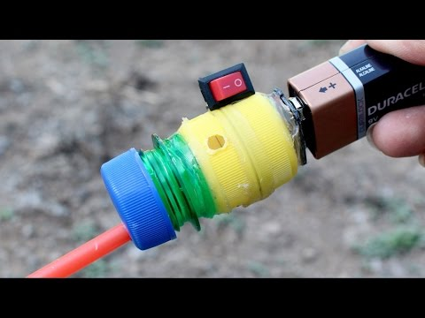 How to Make a Mini Vacuum Cleaner Using Plastic Bottle Caps and DC Motor