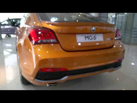 The new MG6 in Dubai 2016