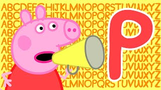 Peppa Pig 🔠 Letter P | Learn the Alphabet with Peppa Pig | ABC Letter Boxes | Learn with Peppa Pig
