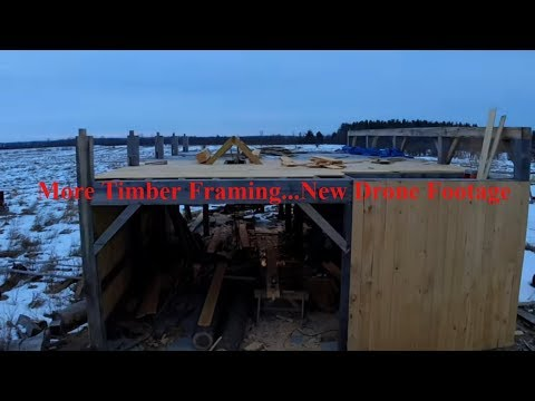 A Timber Frame Vlog #115: Return of Motivation