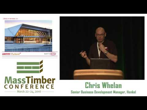 Adhesive Technology Drives Mass Wood Innovation — Chris Whel