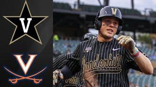 Vanderbilt vs Virginia | MLB4 Collegiate Tournament Highlights