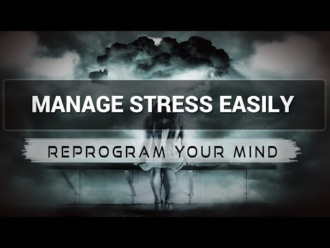 Stress Management affirmations mp3 music audio - Law of attraction - Hypnosis - Subliminal