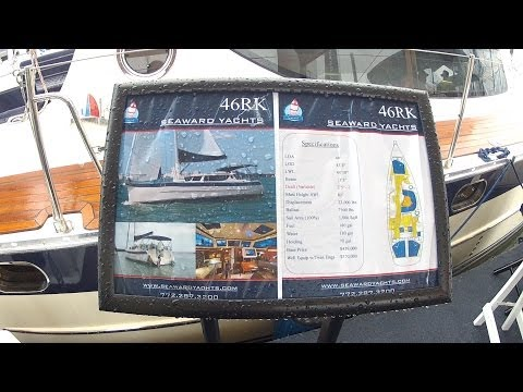 SEWARD 46 RK Retractable Keel toured by ABK Video at the Annapolis Boat Show