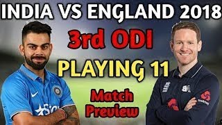 india vs England 3rd ODI Match Preview : Virat Kohli's Eyes on Win in Series Decider