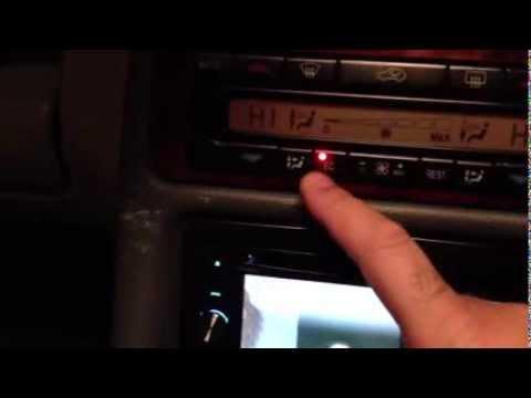 EC light won't turn off on Mercedes clk230 !!!simple FIX DIy air conditioning