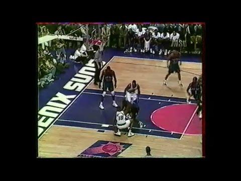 New York @ Phoenix - Ceballos 32 pts -1997 - Full Game