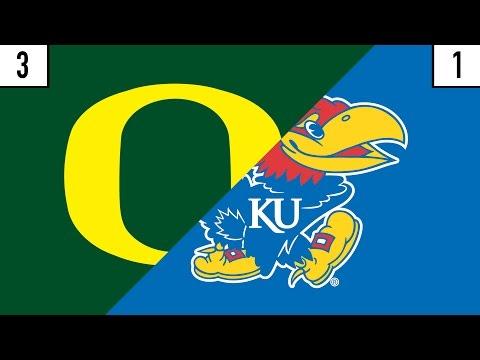 3 Oregon vs. 1 Kansas Prediction   Who
