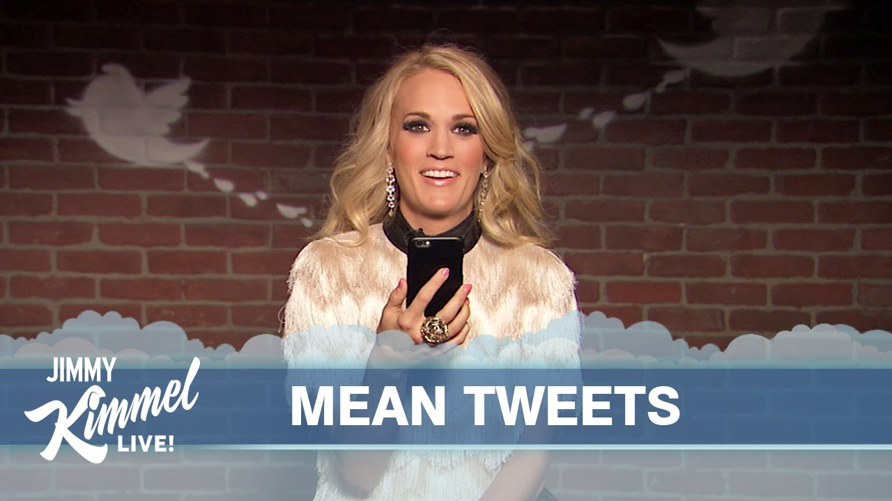 Mean Tweets - Music Edition - YouTube