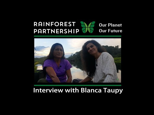 Our Planet. Our Future. Interview with Blanca Taupy.