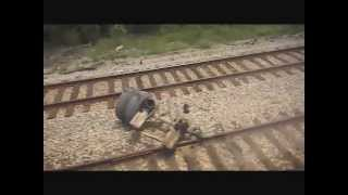 Amtrak vs Dump Truck:  A Passenger's View