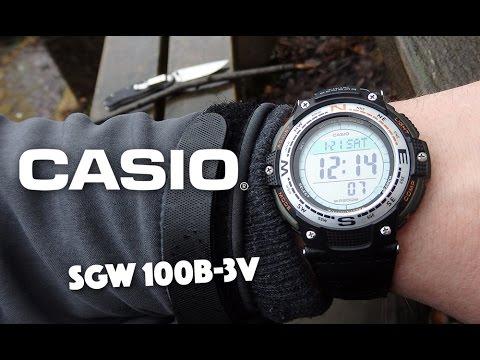 Casio SGW 100B-3V Sports Watch