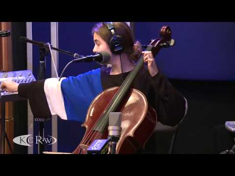 "Dom La Nena performing ""No Meu Pais"" Live on KCRW"