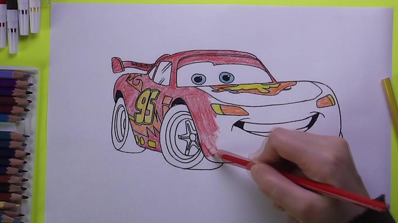 Yarış Arabası Boyama Yarış Arabası Nasıl Boyanır Coloring Racing