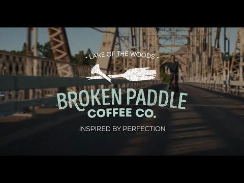 Breaking the Paddle - Broken Paddle Coffee Roastery