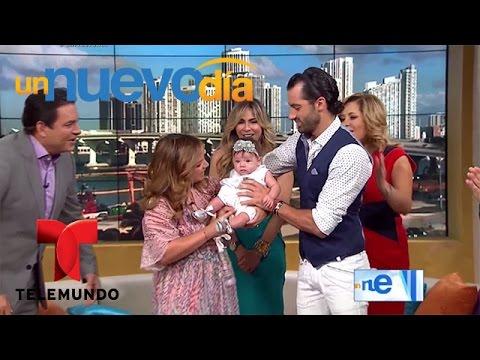Adamari López recibe a Toni Costa y Alaïa | Un Nuevo Día | Telemundo