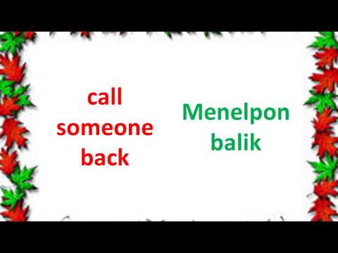 Learn English and Indonesian about Phrasal Verbs (1)