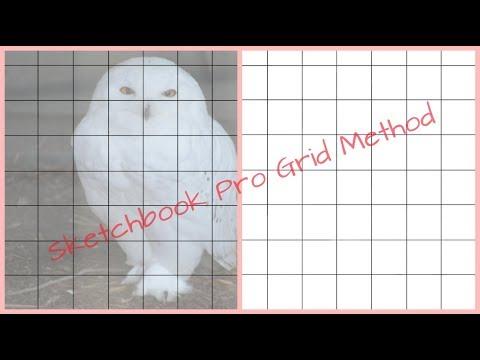 Sketchbook Pro Grid Method On Android