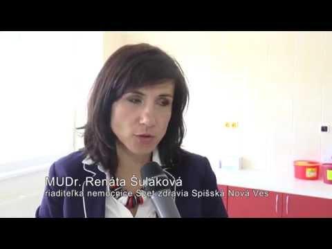 Nové Oddelenia Urgentnej A Intenzívnej Starostlivosti Novej Generácie V Spišskej Novej Vsi