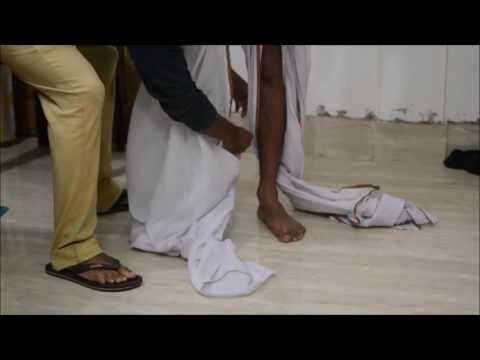 Very Basic Way of Wearing an Assamese Attire