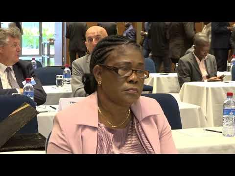 CONGO 11EME COLLOQUE DE L'ASSOCIATION INTERNATIONALE DES SERVICES DU TRESOR AIST PASCAL GANGA N'DIAY