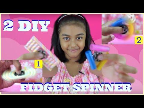 MEMBUAT FIDGET SPINNER SENDIRI   DIY FIDGET SPINNER INDONESIA   SUPER MUDAH!!!